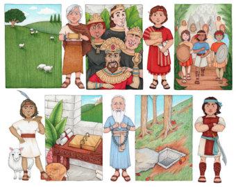 book of mormon prophets clipart #18