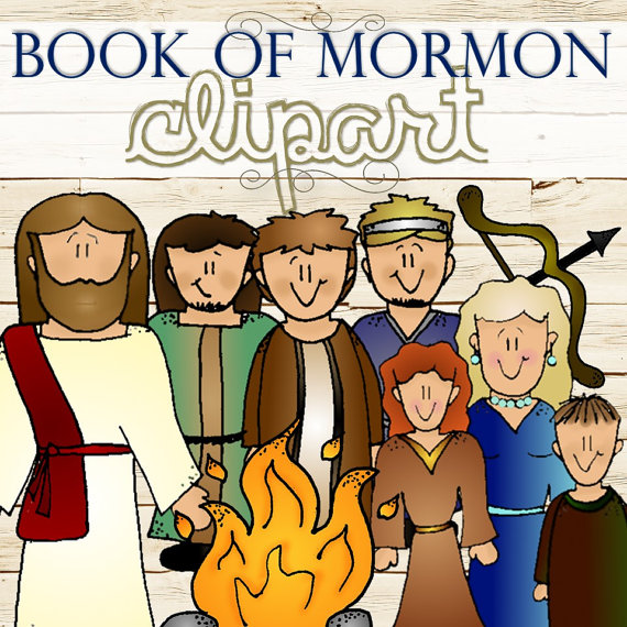 Clipart for Entire Book of Mormon Stories INSTANT by TimeSavors.