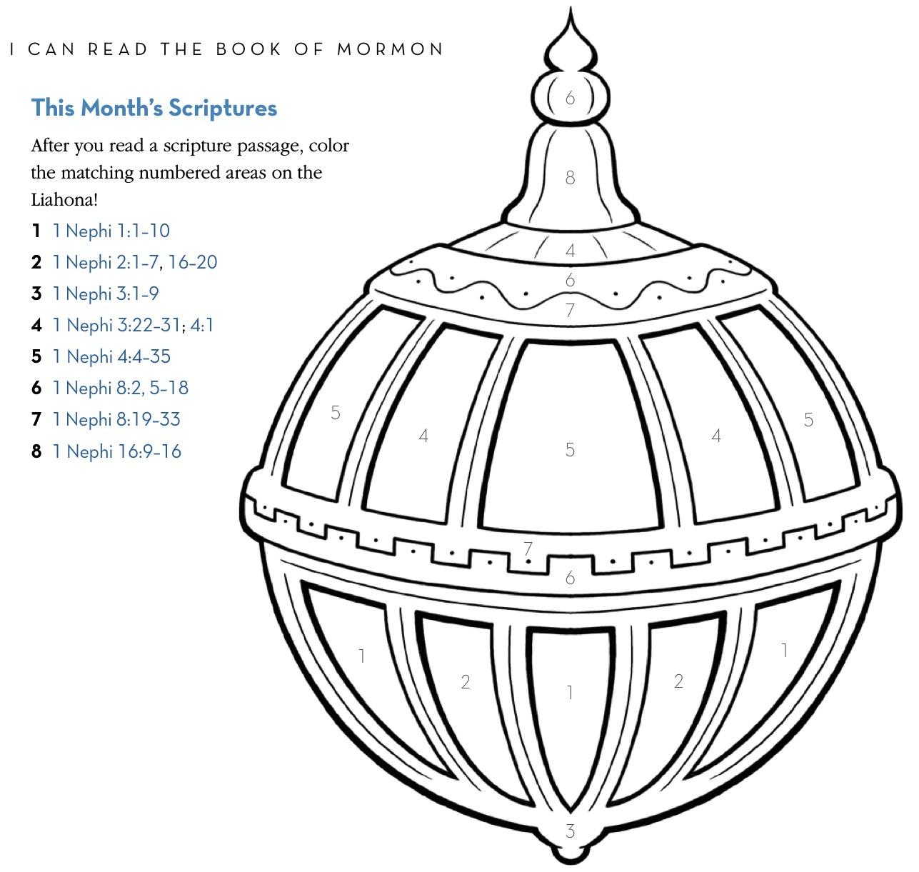 Book of Mormon: Activities & Games.