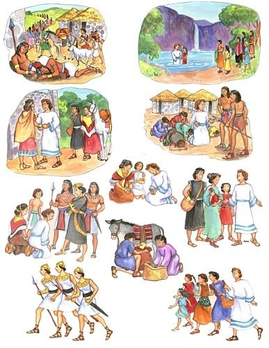 Alma book of mormon felt board stories flannel board.