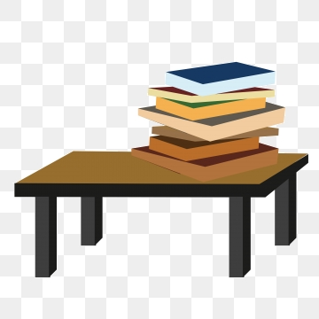 Clipart book table, Clipart book table Transparent FREE for.