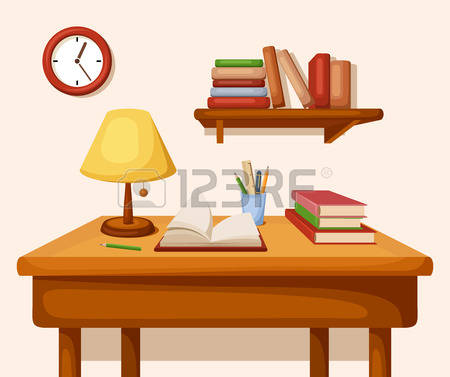 13,974 Study Table Stock Illustrations, Cliparts And Royalty Free.