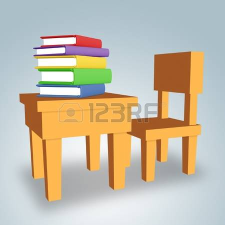 Book on The Table Clipart (10+).