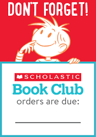 Last Scholastic Book order this year!.