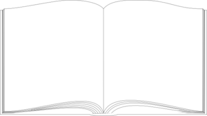 Book White Outline Clip Art at Clker.com.