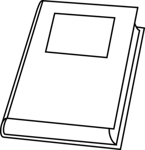 Book Outline Clip Art at Clker.com.