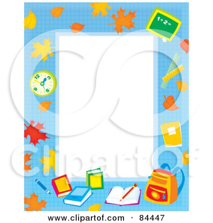 book page border clipart.