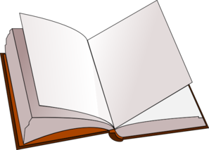 Book page clipart.