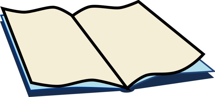 Free Open Book Clipart.