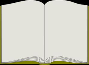 Book Page Clip Art.