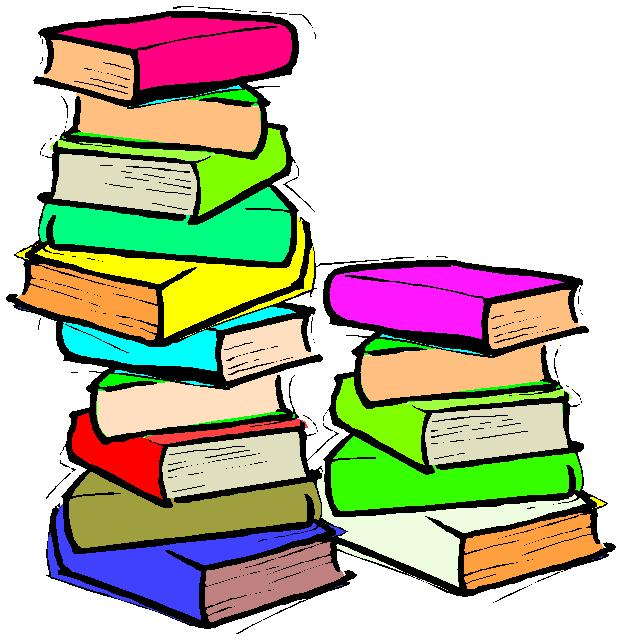 Book pile clipart 1 » Clipart Station.