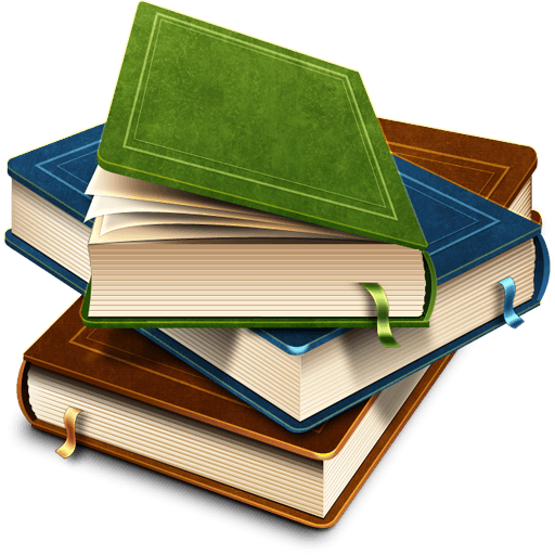 Stack Of Beautiful Books transparent PNG.