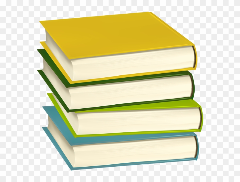 Pile Of Books Png Clip Art Image.
