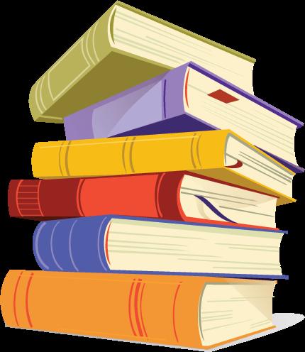 Books PNG Transparent Images.