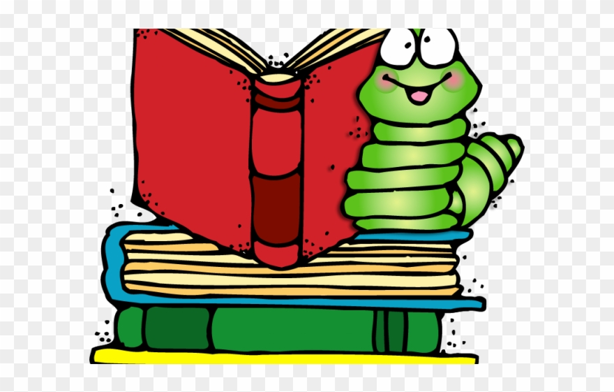 Book Worm Clipart.