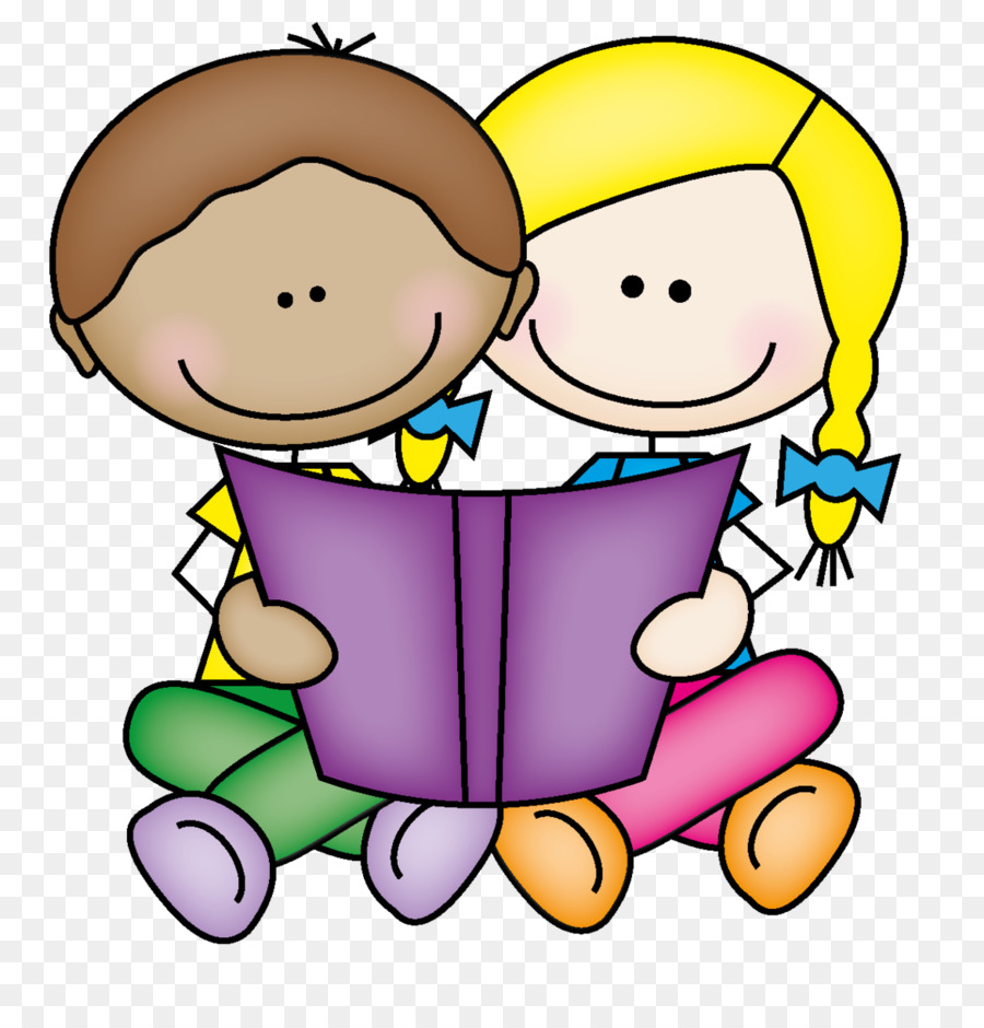 Child Reading Book png download.