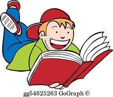 Reading Book Clip Art.