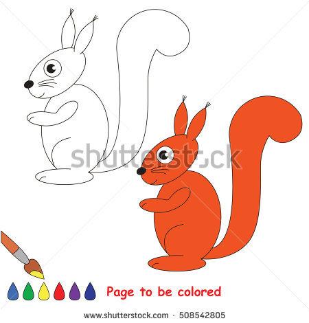 Red Squirrel Baby Stock Vectors, Images & Vector Art.