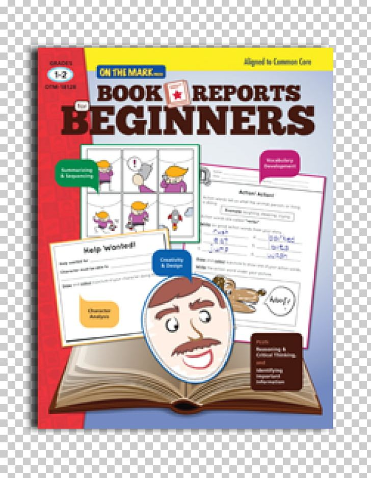 Book Report Grades 1 & 2 Reading Education PNG, Clipart, Area, Book.