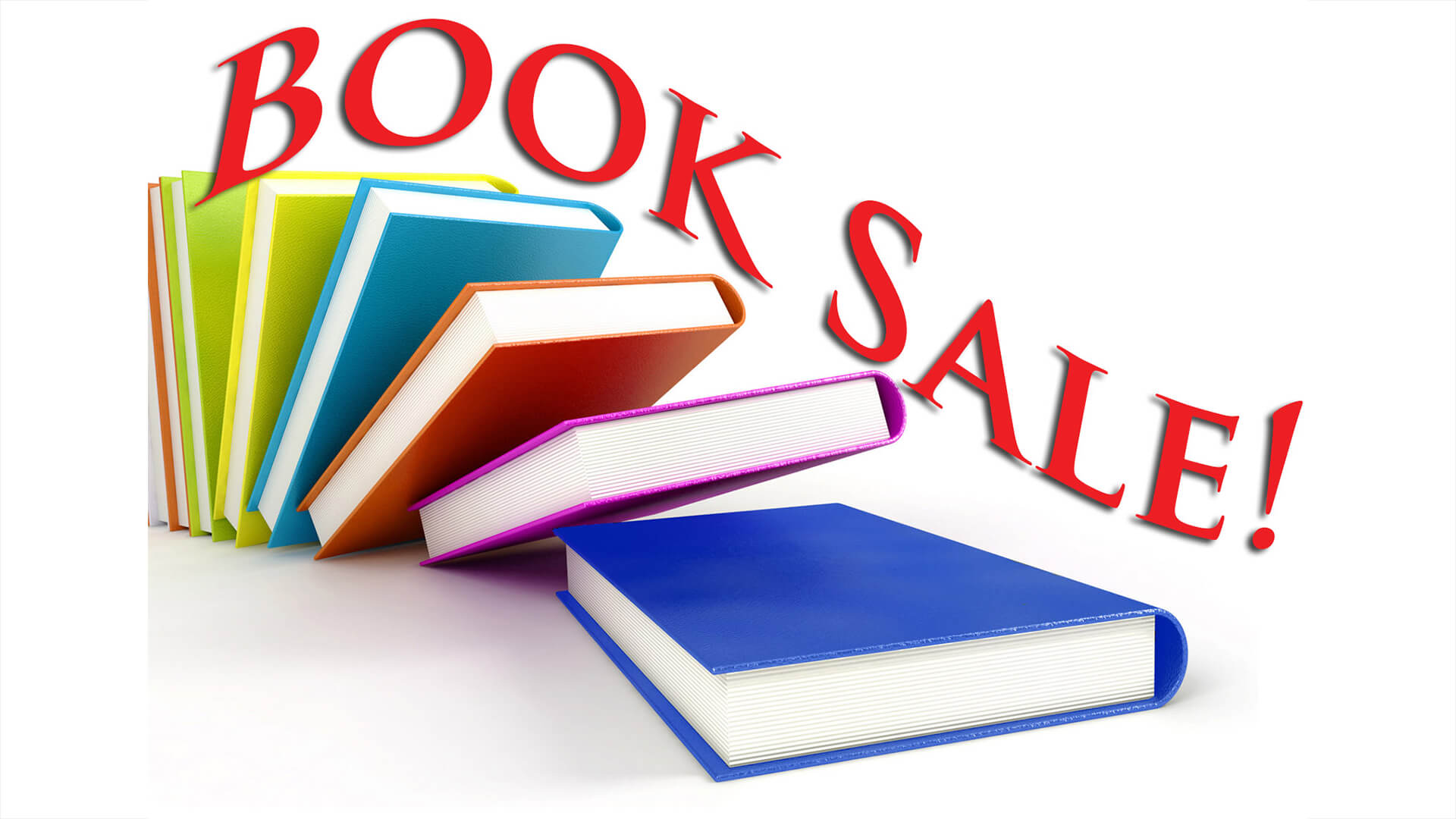Book sale clipart 2 » Clipart Station.