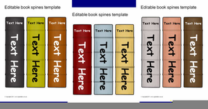 Free Book Spine Clipart.