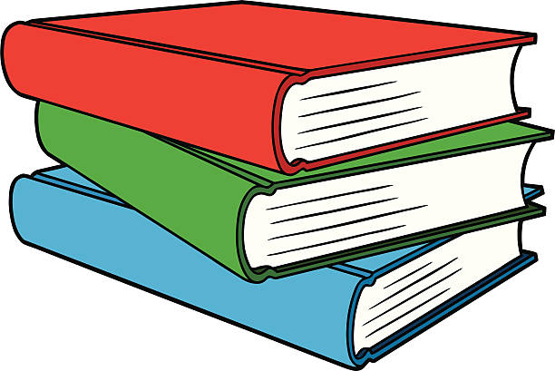 Stack Of Books Clipart 3.