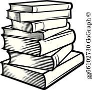 Book Stack Clip Art.