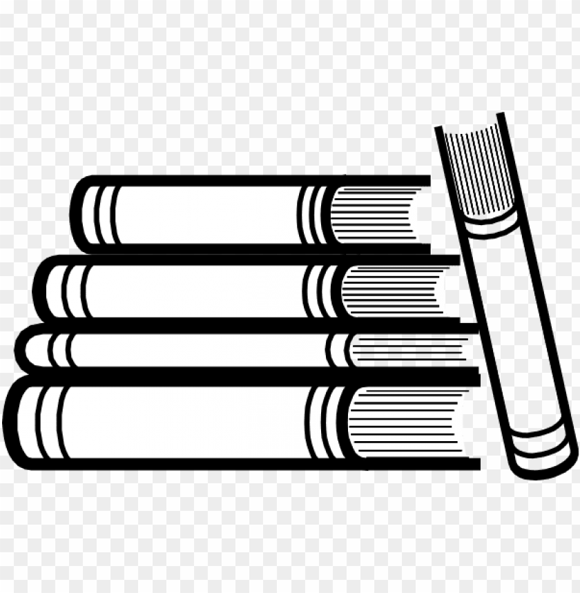 free stack of books png.