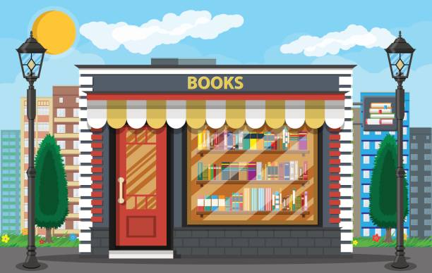 Best Bookstore Illustrations, Royalty.