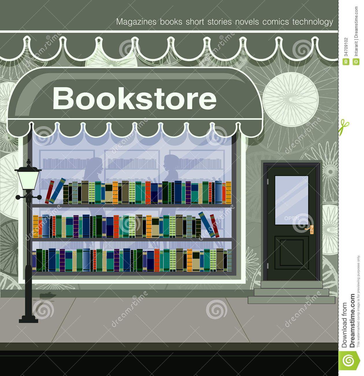 bookstore clipart.