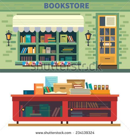 General Store Clip Art Storefront.