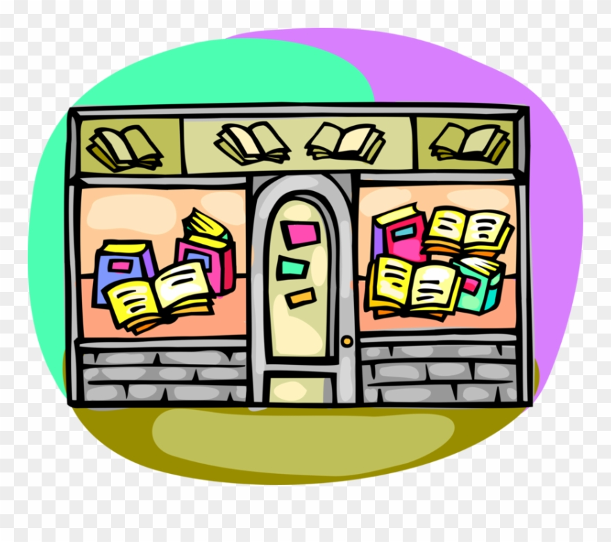 Retail Used Book Store Image Illustration Of.