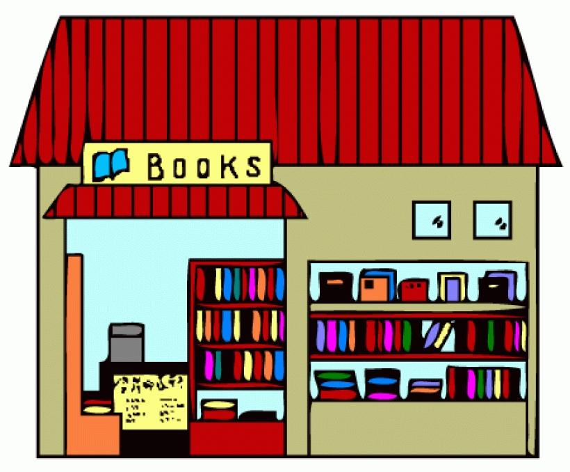 Book Store Clip Art.