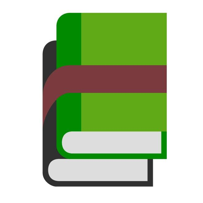 book icon vector graphics.