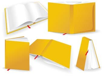 Reading Book Clip Art, Vector Reading Book.