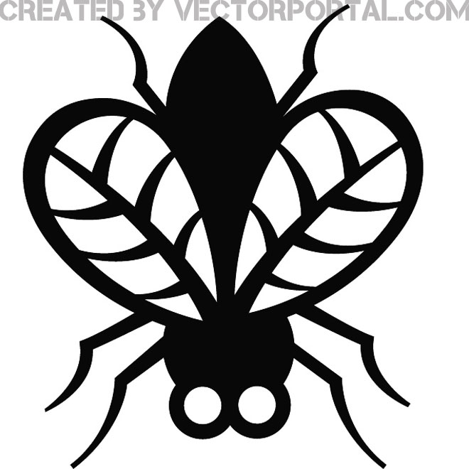 Tick Bug Clip Art Free Vector.
