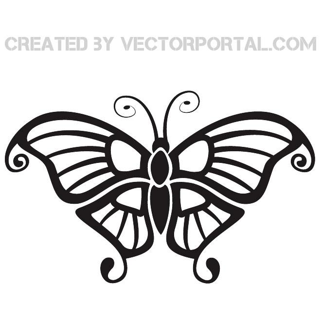 140+ Butterfly Vectors.