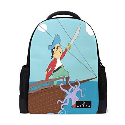 Amazon.com: Travel Laptop Backpack Women Print Bookbags.