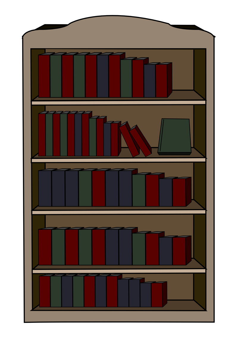 Bookcase clipart 20 free Cliparts | Download images on ...