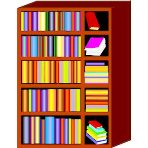 Bookcase clipart - Clipground