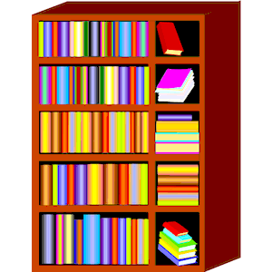 Book rack clipart.