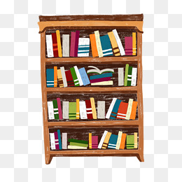 Bookshelf PNG HD Transparent Bookshelf HD.PNG Images..