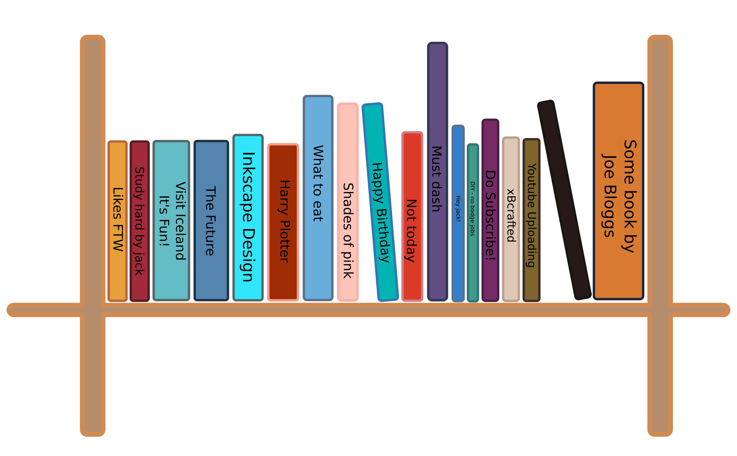 Bookshelf PNG Images Transparent Free Download.