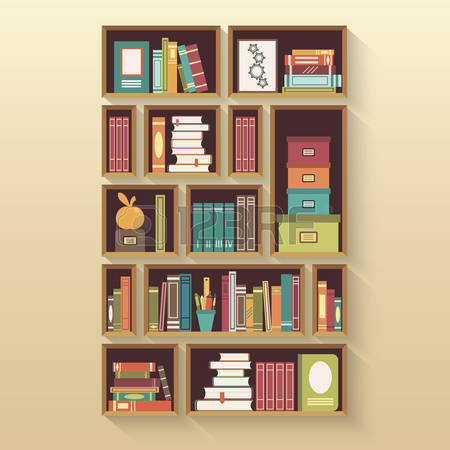 4,395 Bookcases Stock Illustrations, Cliparts And Royalty Free.