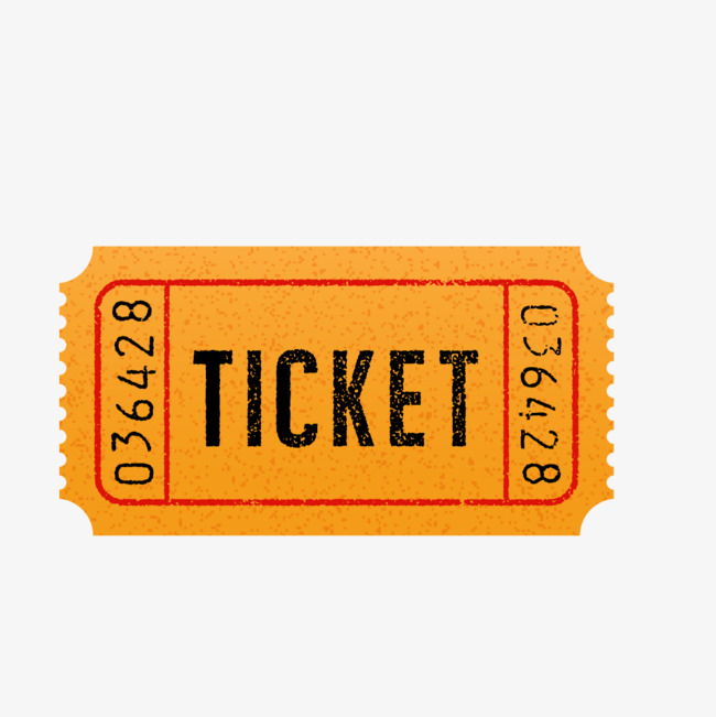 Vector Retro Ticket Booking, Ticket Clipart, Tickets, Booking PNG.