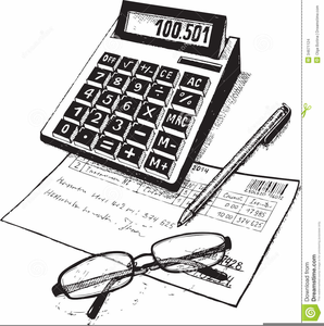 Free Bookkeeping Clipart.