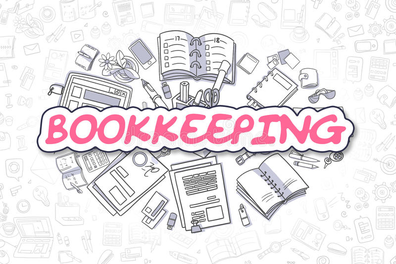 Bookkeeping Stock Illustrations.
