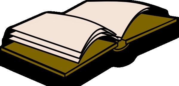 Open Book Icon Clip Art at Clker.com.