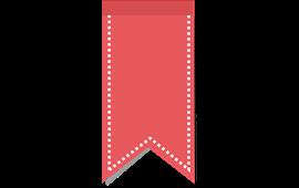 The Ribbon Bookmark PNG.