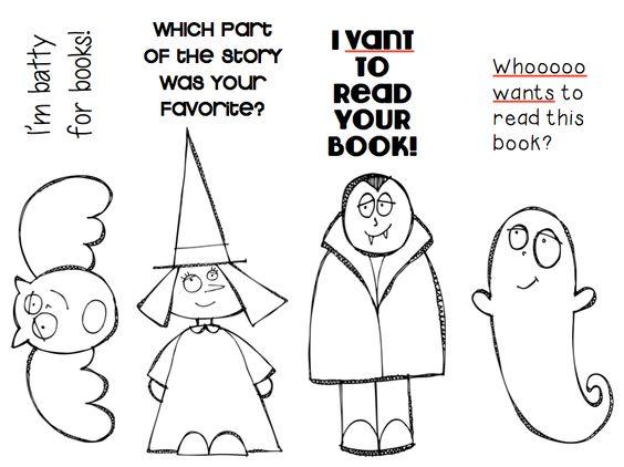 Ms. O Reads Books Super cute KPM Doodles clip art turned into.